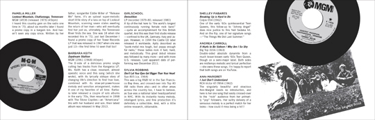 Wild Honey Records ZINE article - Twelve Muses Part 2