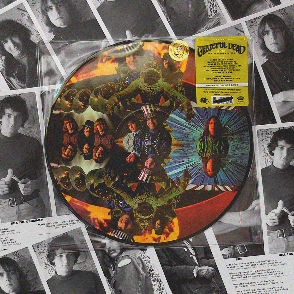 Grateful Dead 50th anniversary picture disc